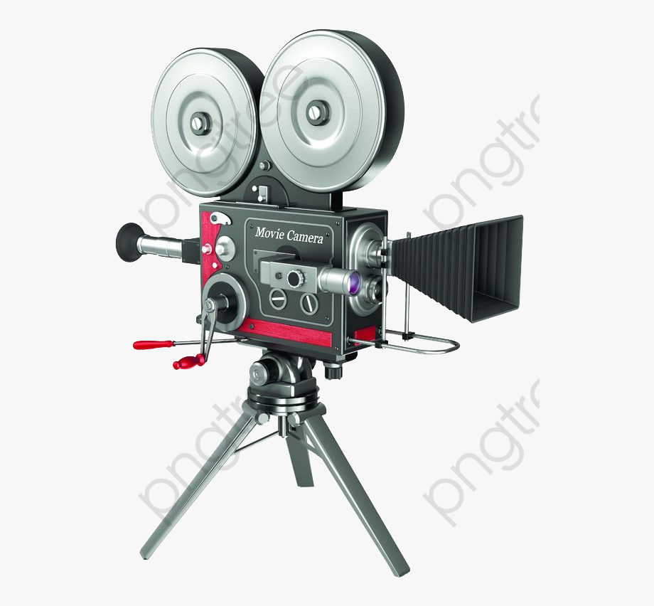 Video Camera Clipart Vintage.