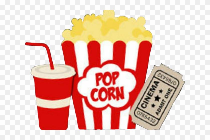 Soda Clipart Movie Popcorn.