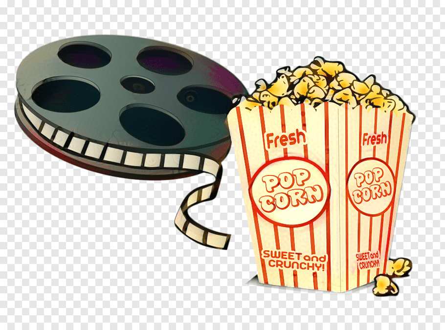 Popcorn, Film, Video, Drawing, Cinema, Television Show.