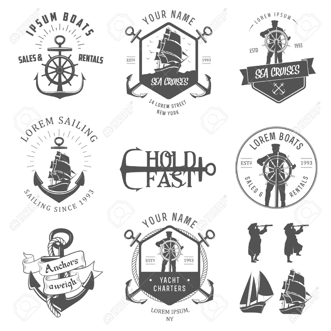 Vintage Nautical Cliparts Free Download Clip Art.