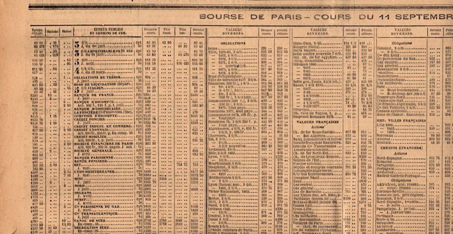 Vintage newspaper clipart.