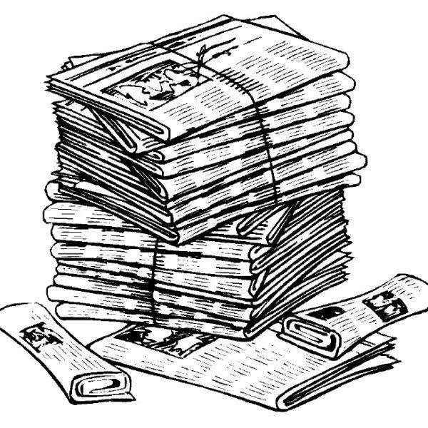 Essay clipart old newspaper, Essay old newspaper Transparent.