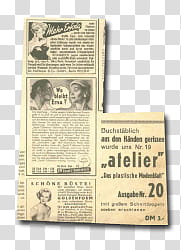Retro vintage fashion, gray newspaper illustration.