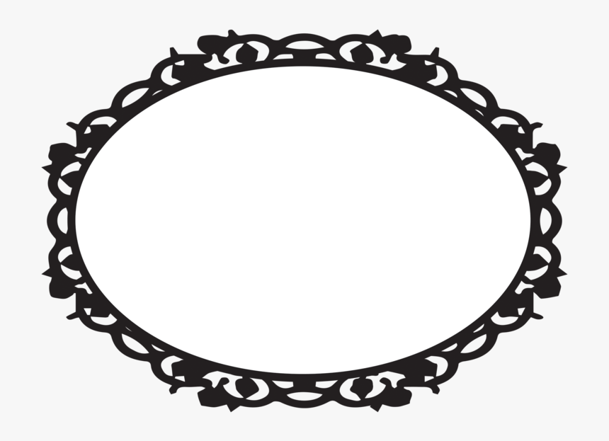 Oval Victorian Frames Clipart Ciij.