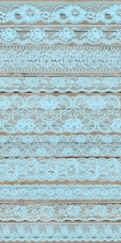 Vintage Blue Lace Borders Overlays Clipart Embellishments png.