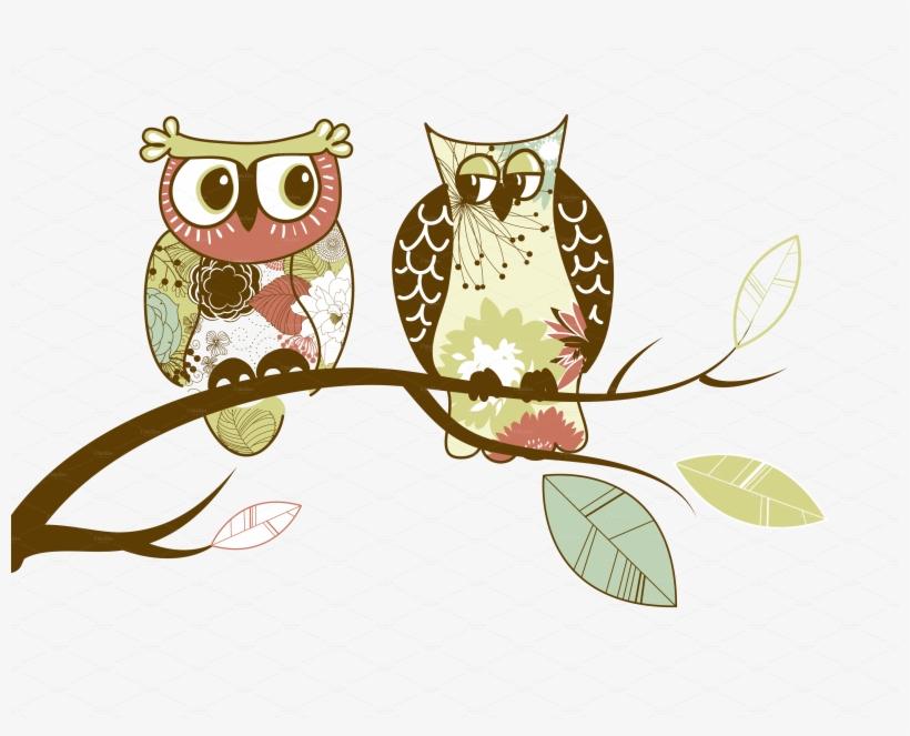 Clipart Vintage Owl.