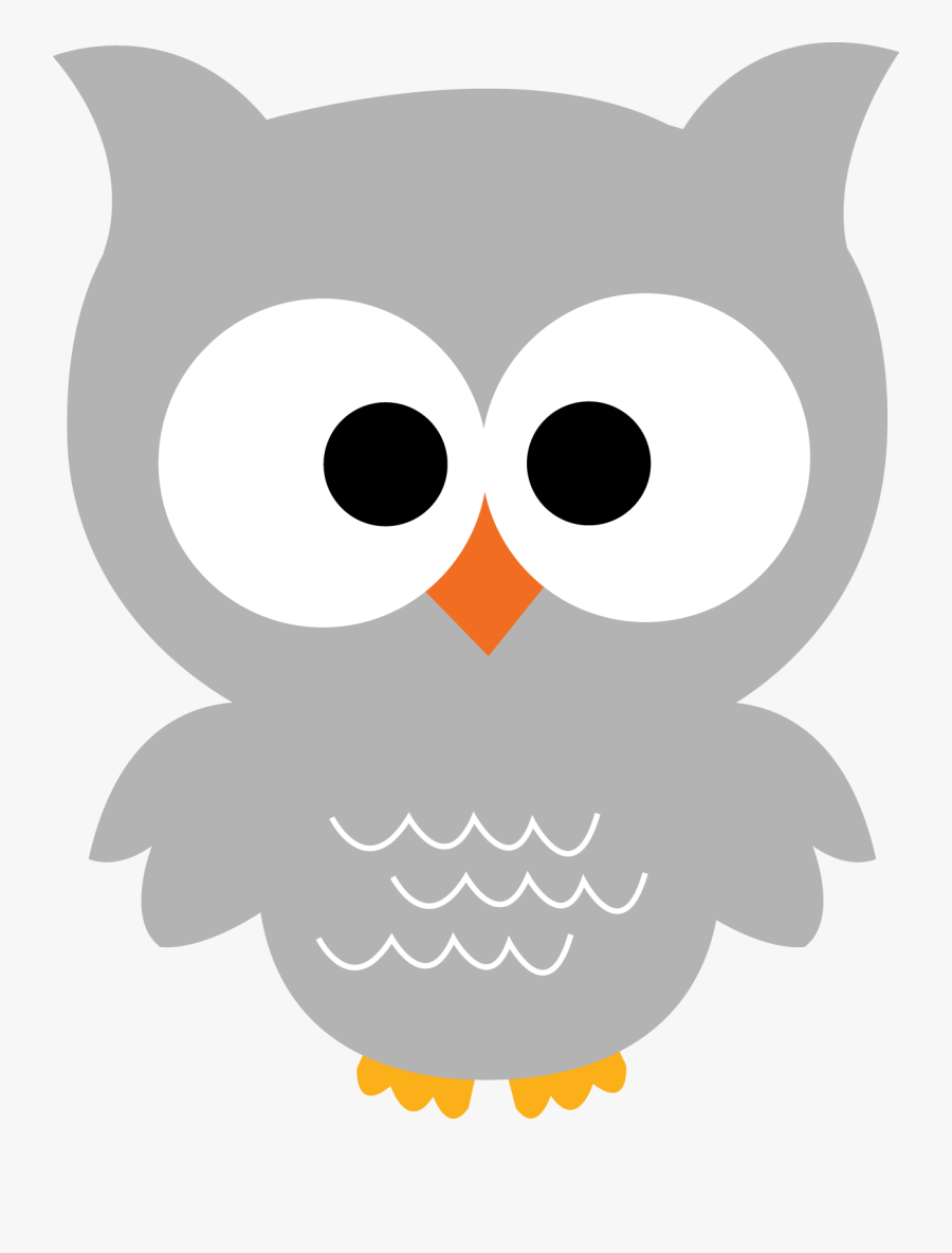 Gray Owl Clipart.