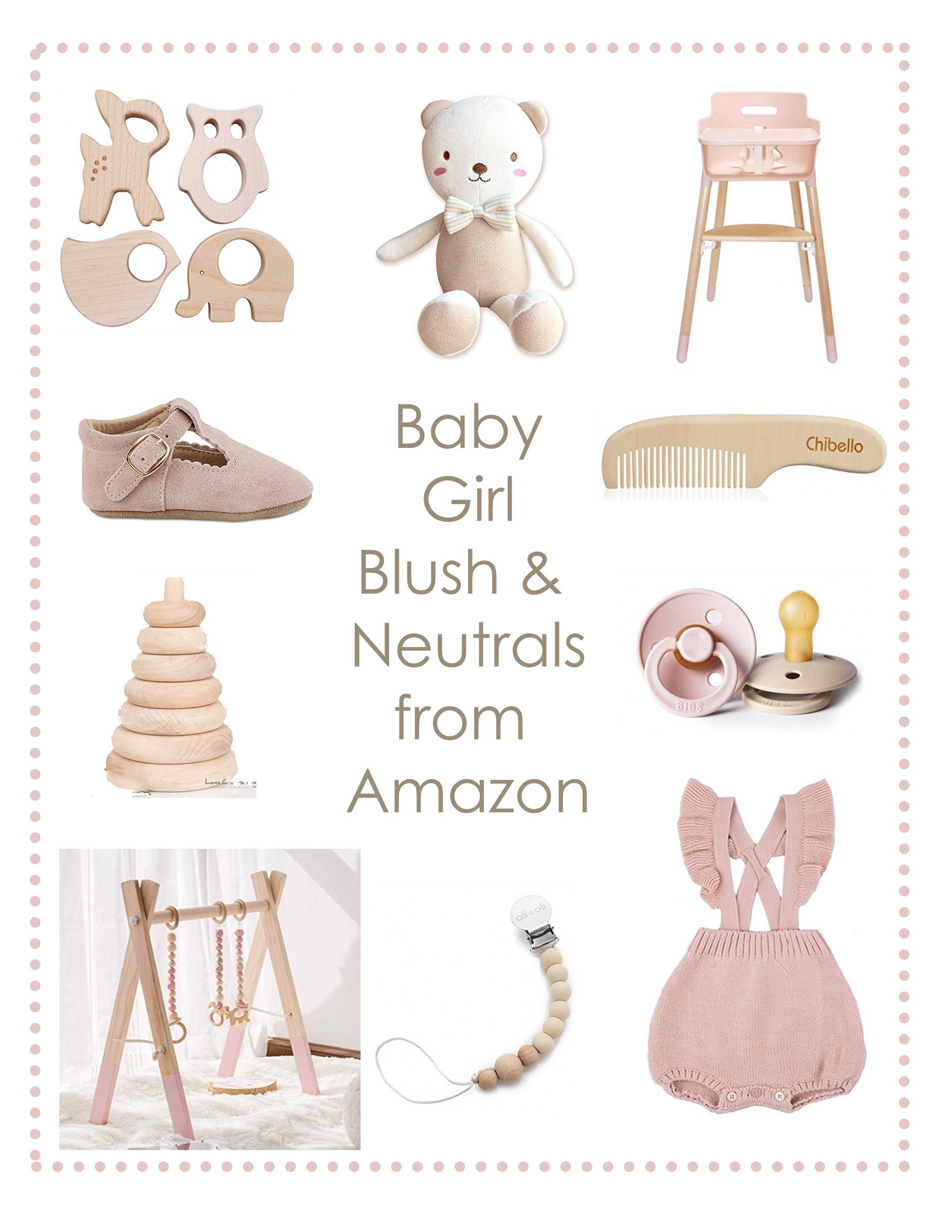 Baby Girl Neutrals from Amazon.