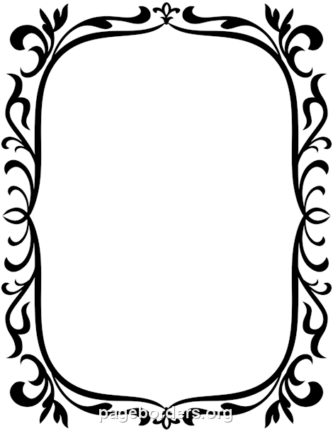 Vintage Border: Clip Art, Page Border, and Vector Graphics.
