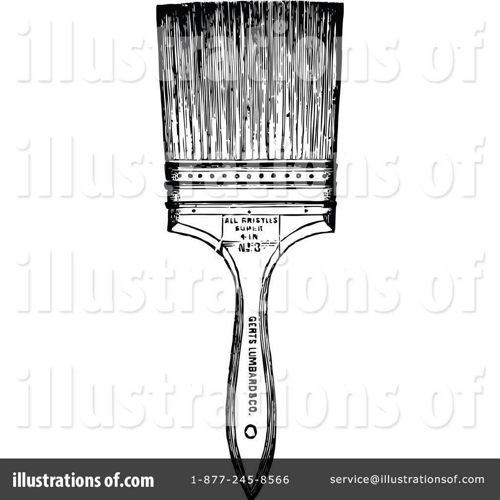 Paintbrush Clipart #1115300.