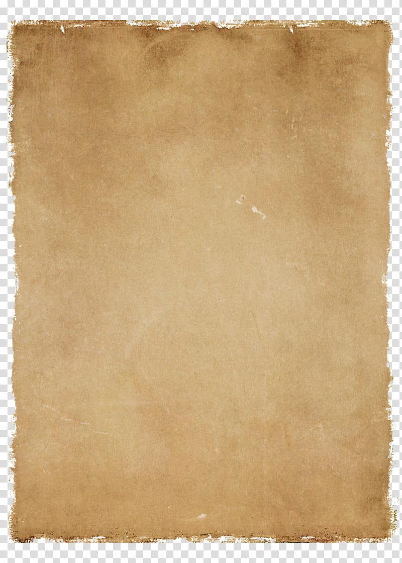 Vintage Paper , brown paper transparent background PNG.