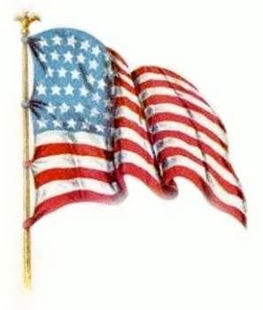 Vintage Patriotic Clipart.
