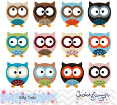 Patriotic Owls Clipart Clip Art Fourth of July Owls by.