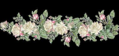 Rose Border Clip Art.
