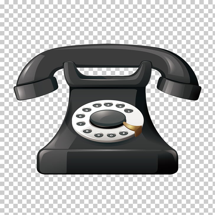 Cartoon Stock photography Telephone, vintage phone PNG.
