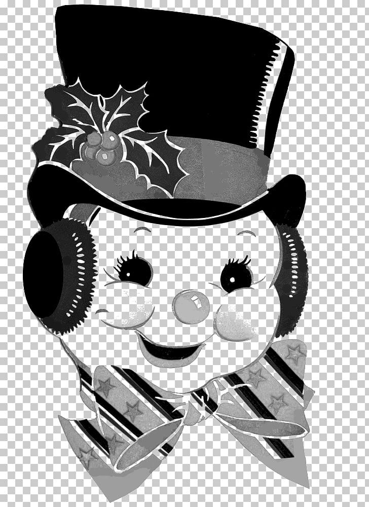 Snowman Vintage Photography , dice PNG clipart.