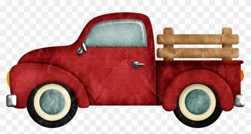 B *✿* Happy Camper Vintage Pickup Trucks, Old Trucks,.