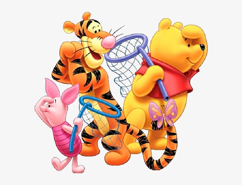 Winnie The Pooh Characters Clipart At Getdrawings.