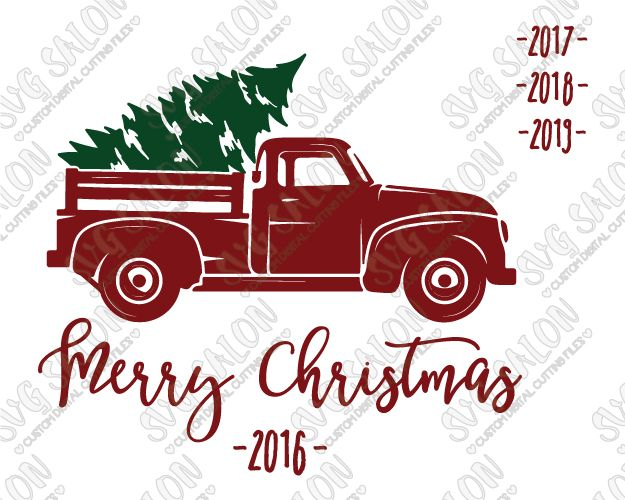 vintage red truck with christmas tree clipart 10 free ... (625 x 500 Pixel)