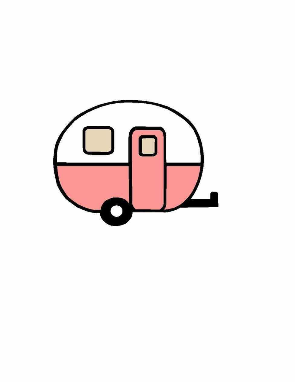 Creative vintage rv clipart collections.