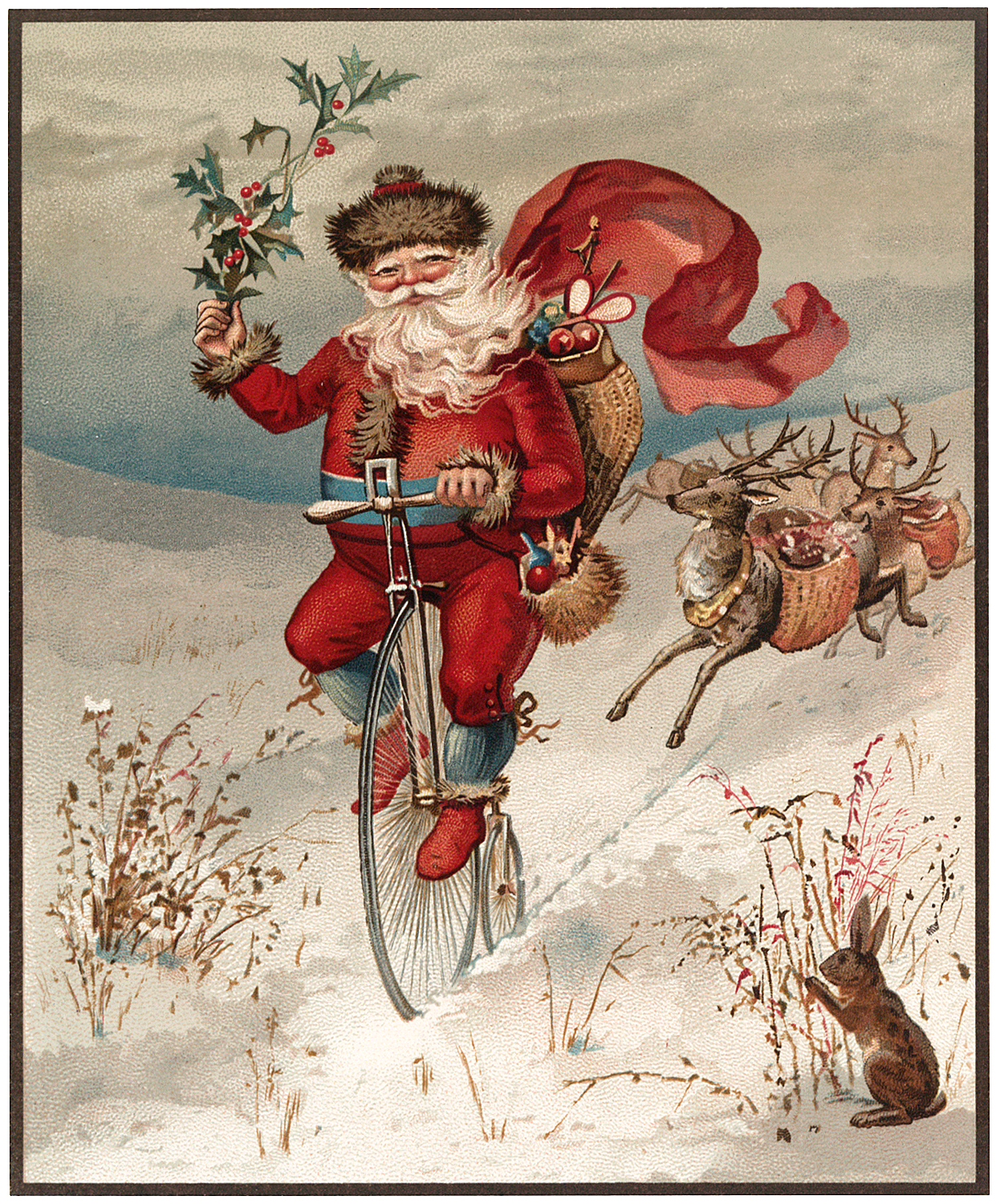 12 Santa Sleigh Images and More!.