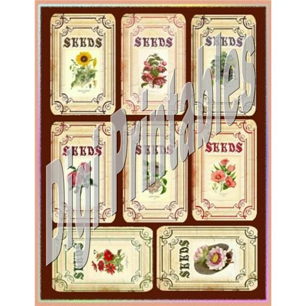 Where to Find Vintage Seed Packet Art for Your DTP Projects.