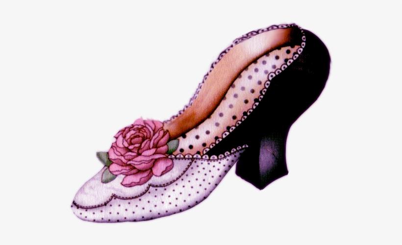 Vintage Shoes Clipart.
