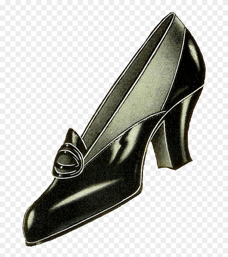 Vintage Shoes Png Clipart (#2032942).