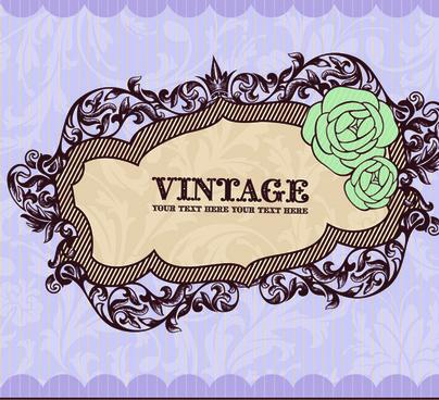 Vintage Silhouette Free Clipart Rectangle Label Designs