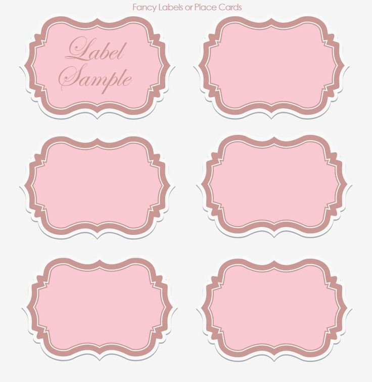 Vintage Silhouette Free Clipart Rectangle Label Designs