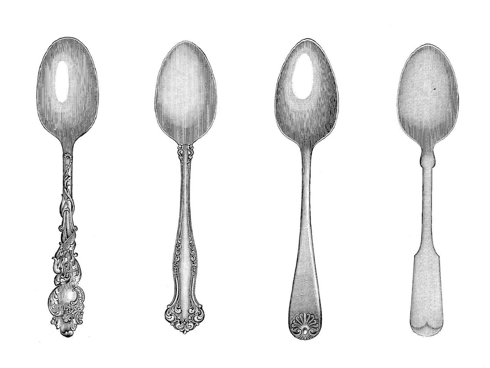 Free Silver Spoon Cliparts, Download Free Clip Art, Free.
