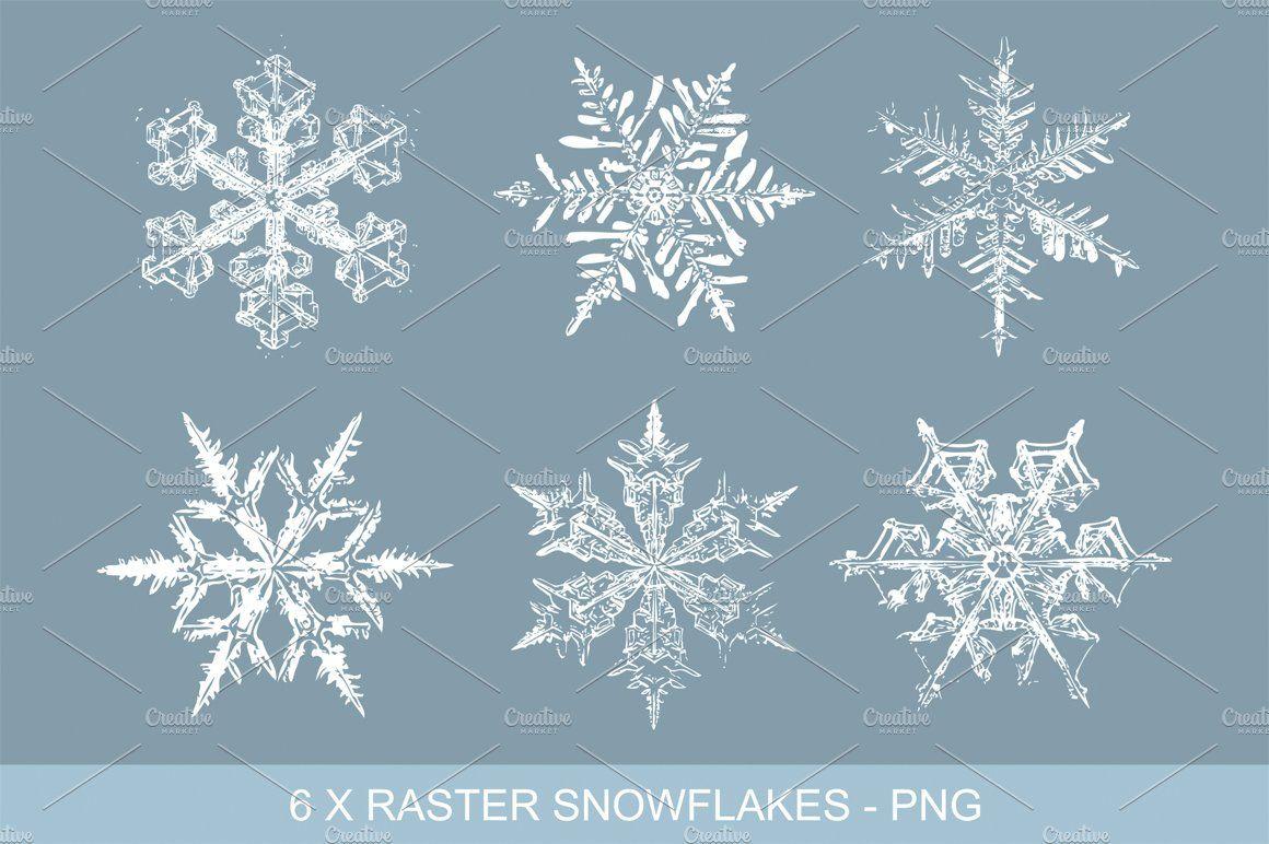 Vintage Snowflakes Vector Clipart Snowflakes#Clipart#Vintage.