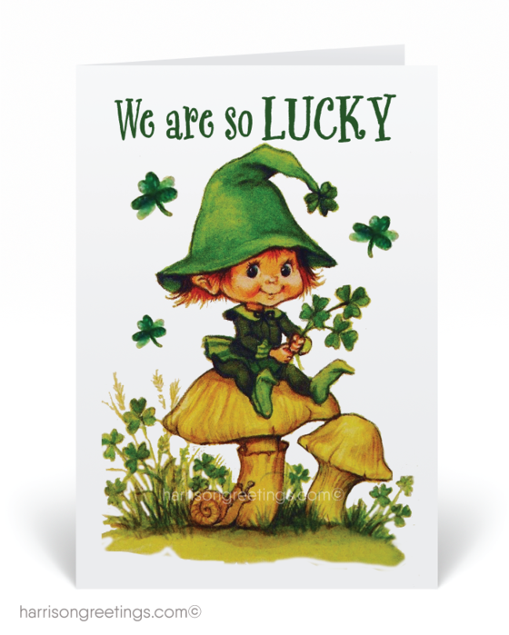 Vintage St. Patrick\'s Day Cards.