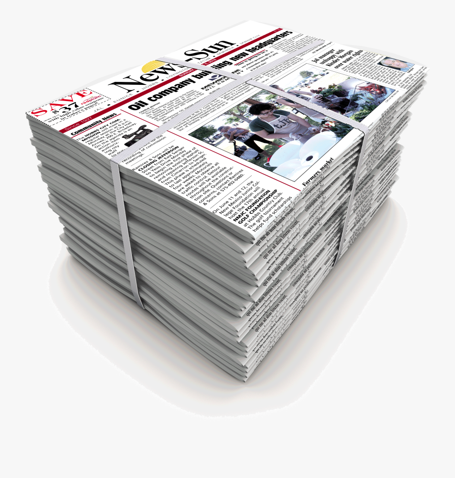 Stack Of Newspaper Png , Free Transparent Clipart.