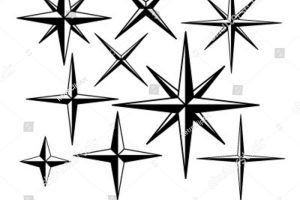 Vintage star clipart 4 » Clipart Portal.