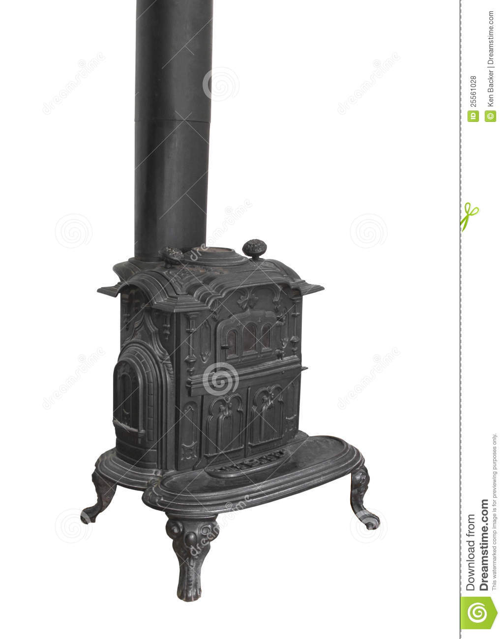 Images of Old Stove.