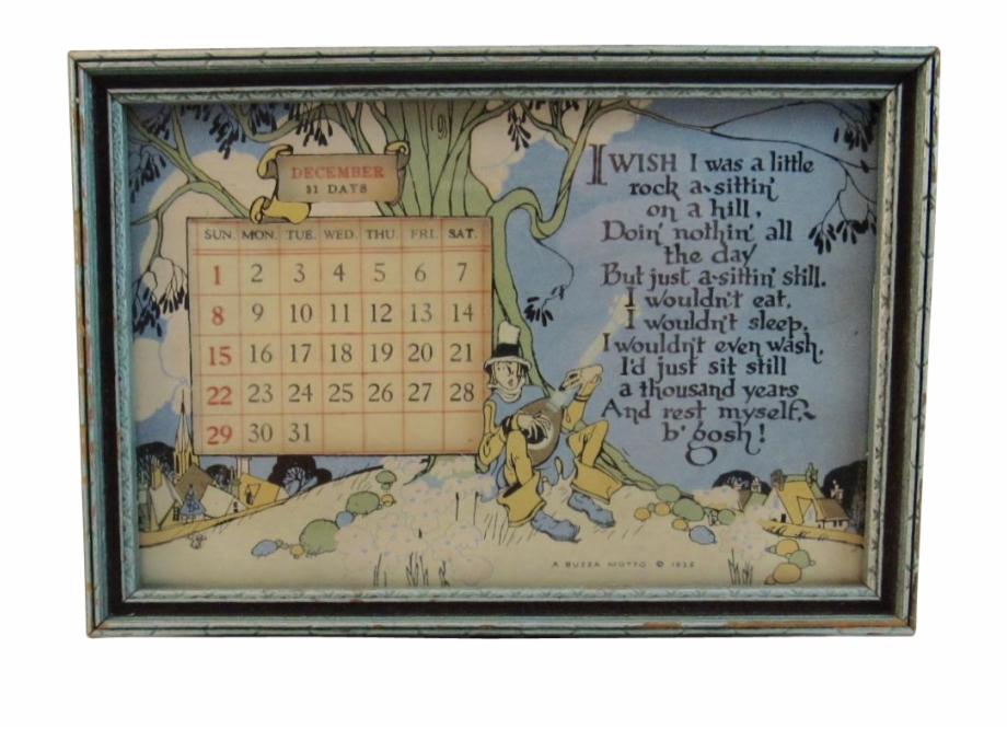 Shop Antique And Vintage Calendars On Ruby Lane.