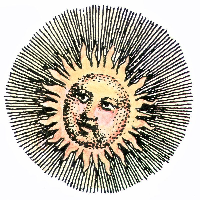Vintage Sun Graphic in 2019.