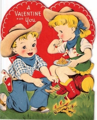 15 Vintage Valentine&Day Cards to Swoon Over.