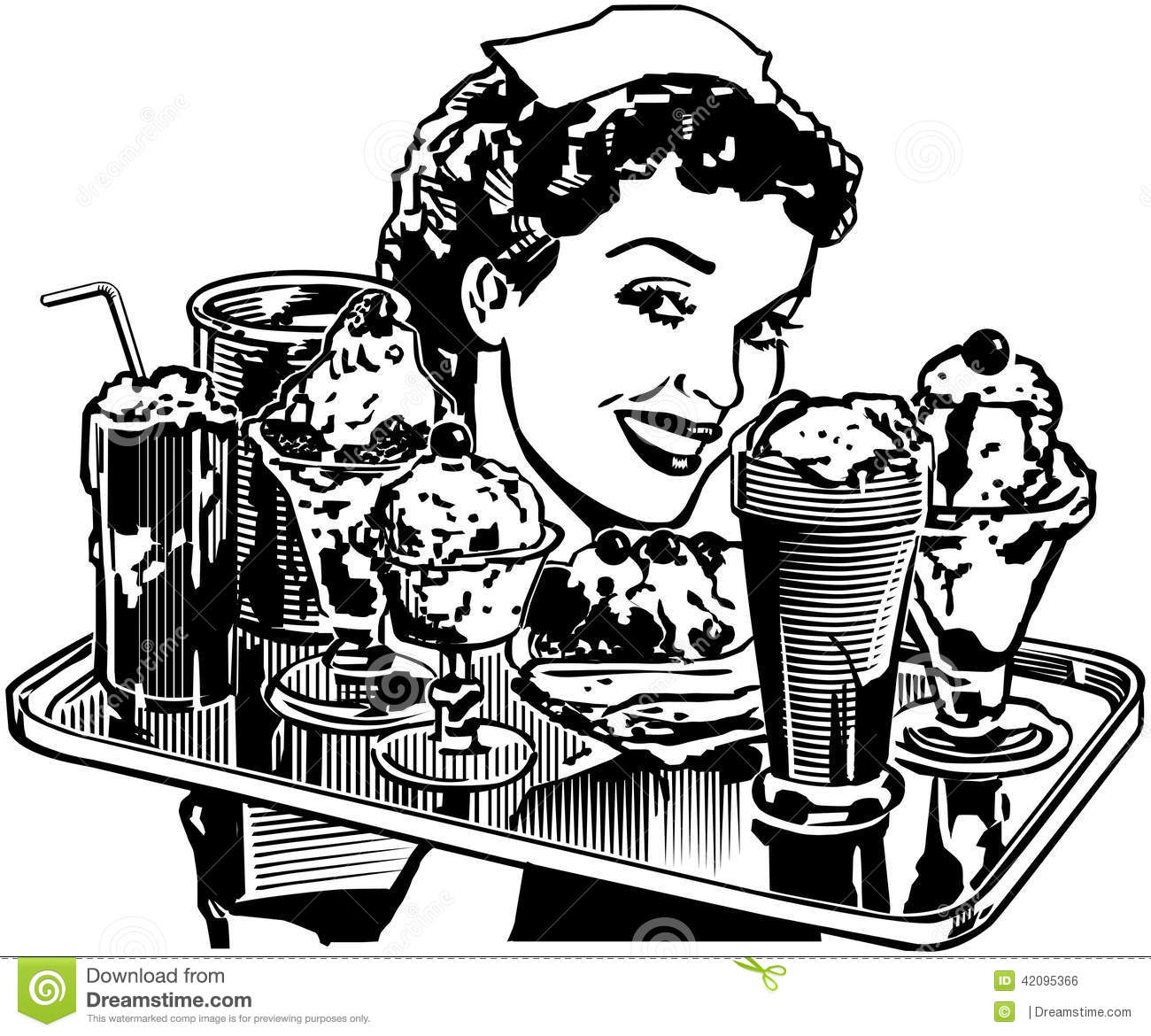 264 Diner free clipart.
