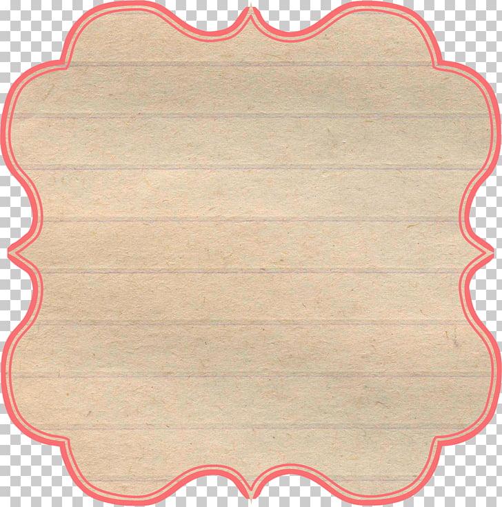 Paper Text Vignette Frames, vintage label PNG clipart.