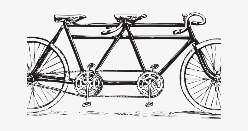 Cycling Clipart Vintage Bicycle.