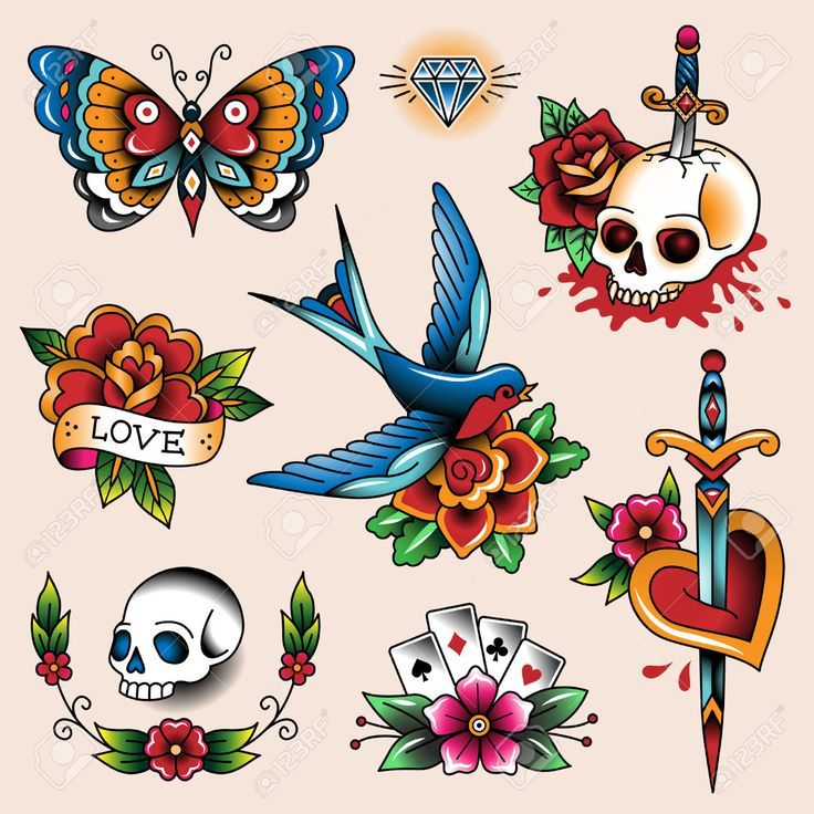 traditional tattoo clipart.