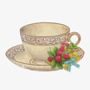 PNG Vintage Tea Cup Cliparts & Cartoons Free Download.