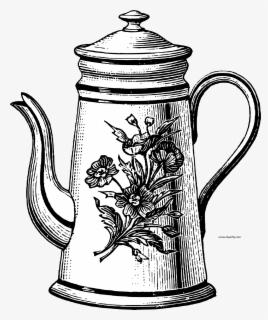Free Tea Pot Clip Art with No Background.