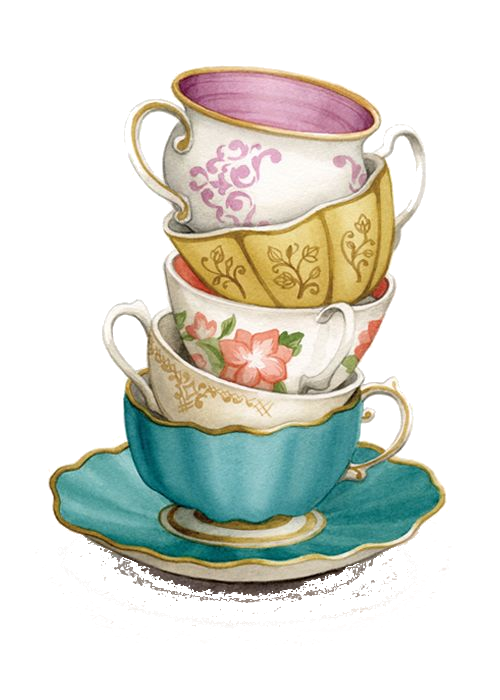 Pin about Tea cup art on PNG (TRANSPARENT) GRAPHIC IMAGES.