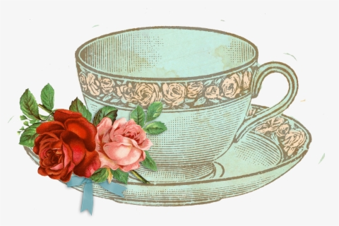 Free Tea Cups Clip Art with No Background.