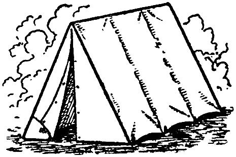 Free Clip Art   Camping Tent.