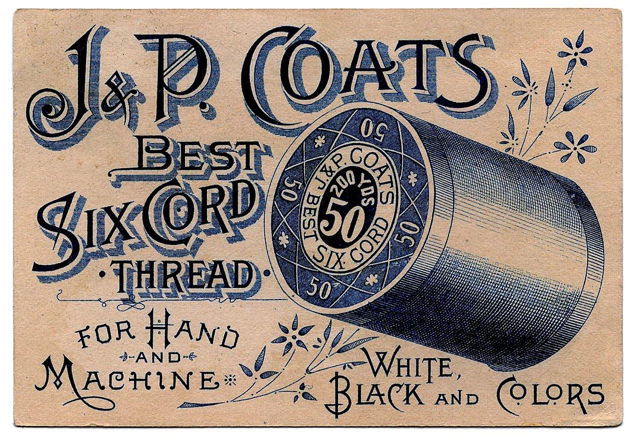 Vintage Sewing Clip Art.