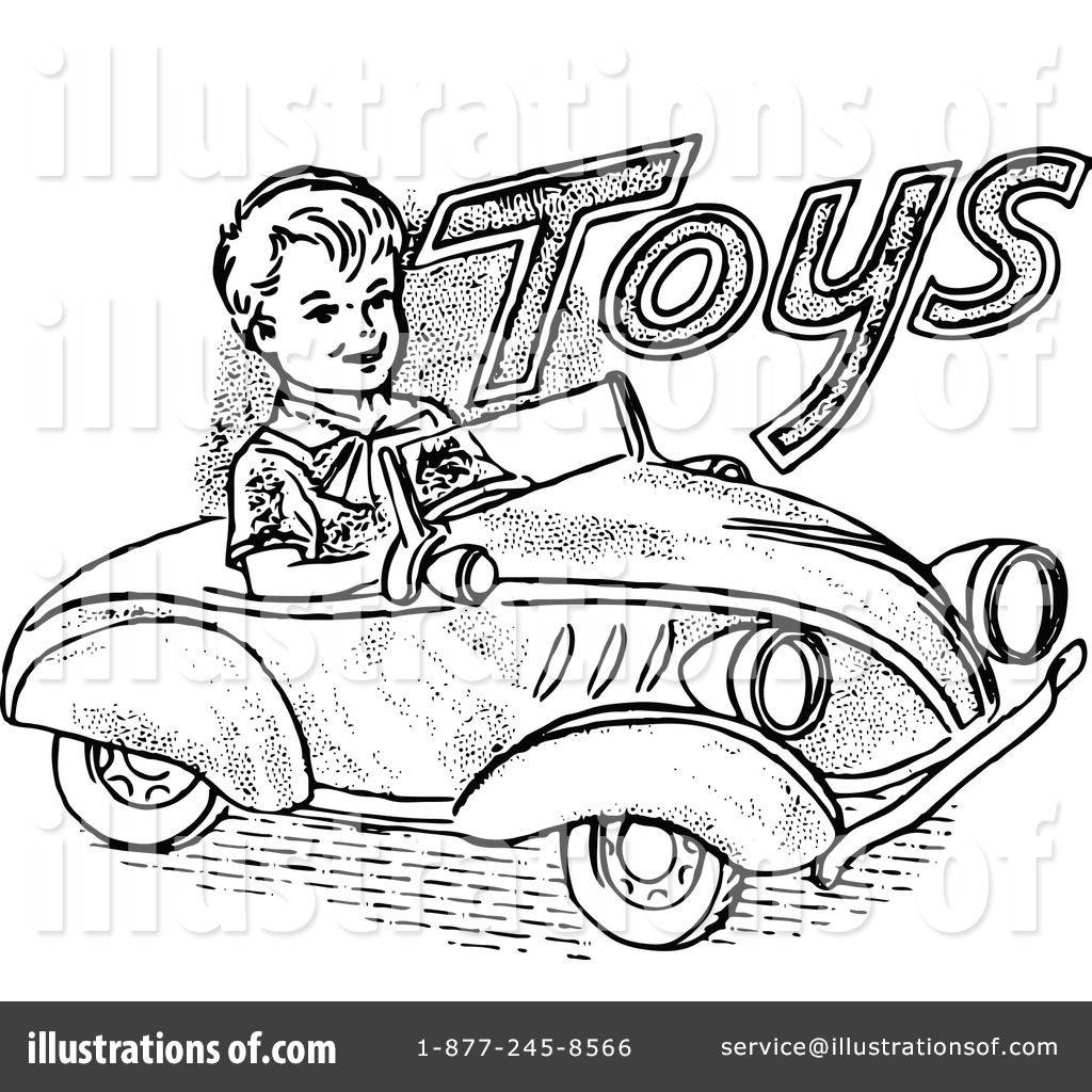 Vintage Toy Clipart.